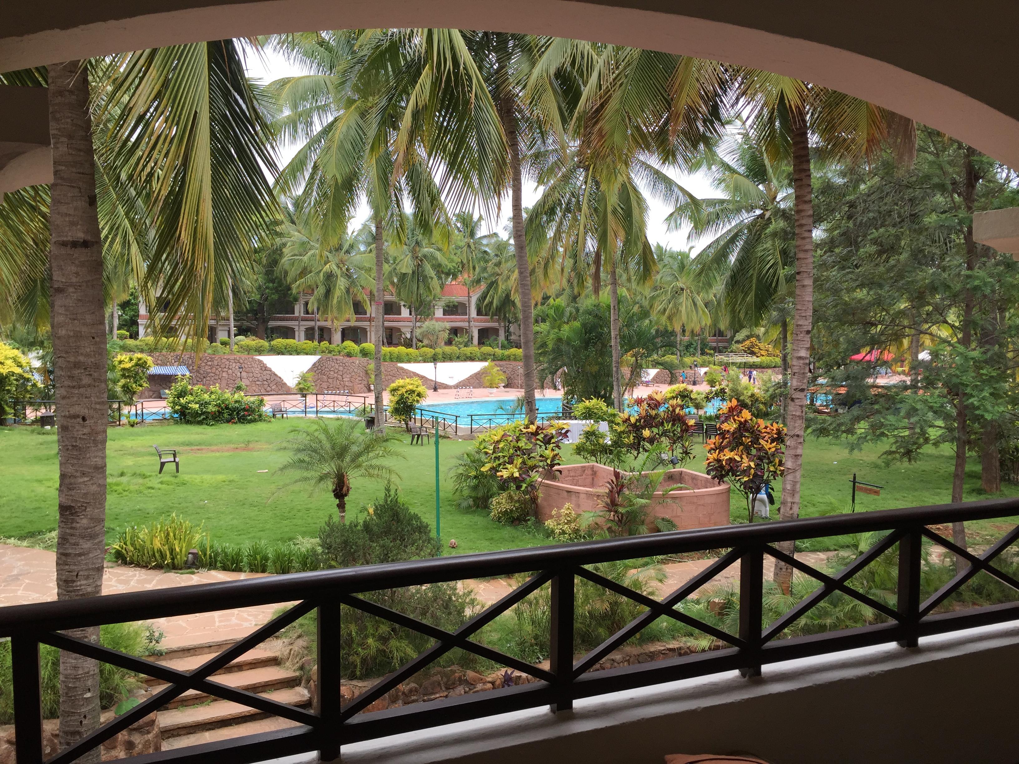 Golden Palms Hotel Zimmer – Reisen in Indien
